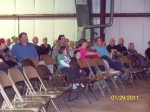 Part of the crowd at Tannehill Opry in McCalla, Alabama on January 29,2011